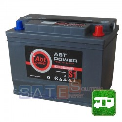 Batteria per camper 12V 100AH a gel a Gel Abt Power