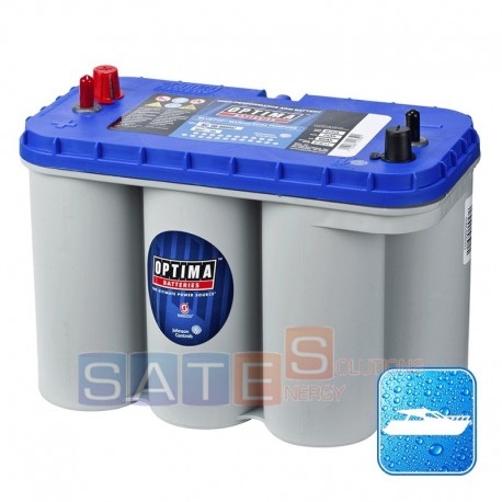 Batteria AGM Optima BT DC 5.5 12V 75Ah