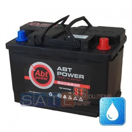 Batteria per camper 12V 70Ah servizi a GEL