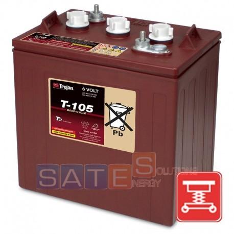 Batteria a Pb-Acido Trojan T-105