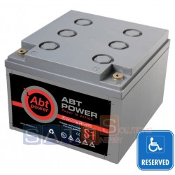 Batteria a Gel Abt Power 12V 26AH