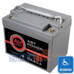 Batteria a Gel Abt Power 12V 33AH