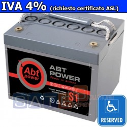 Batteria a Gel Abt Power 12V 44AH (IVA 4%)