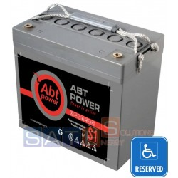 Batteria a Gel Abt Power 12V 55AH