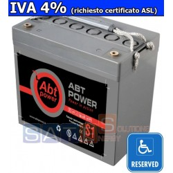 Batteria a Gel Abt Power 12V 55AH (IVA 4%)