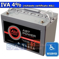 Batteria a Gel Abt Power 12V 60AH (IVA 4%)