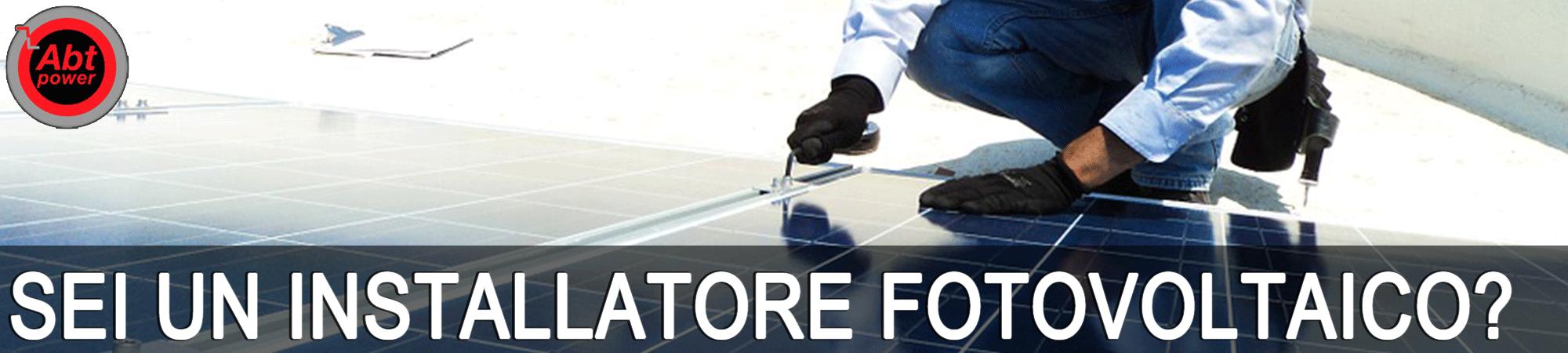 installatori fotovoltaico con accumulo